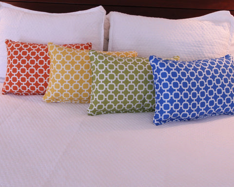 Hockley Geometric Pillow