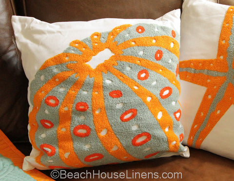 Fiesta Key Urchin Pillow