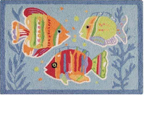 Fish Outta Water Rug