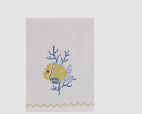 Fish Outta Water Guest Towel