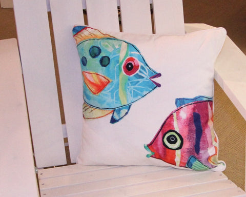 Fish Outta Water Pillow