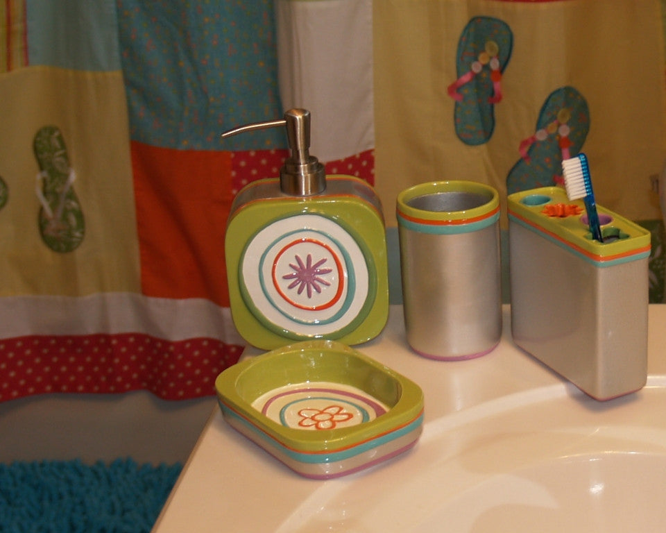 All that Jazz Bath Accessory Collection