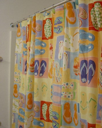 Fun Flips Shower Curtain