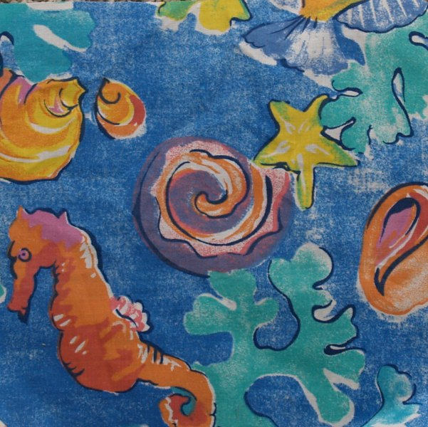Funky Fish Shower Curtain
