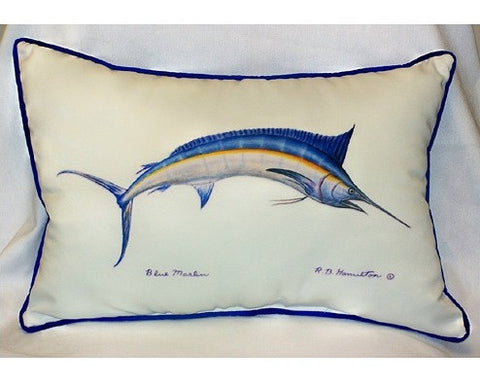 Marlin Art Pillow
