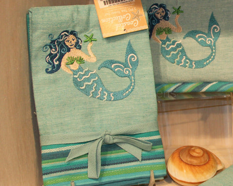 Mermaid Tea Towel Set