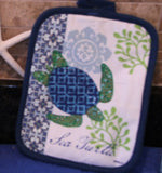 Sea Turtle PotHolder