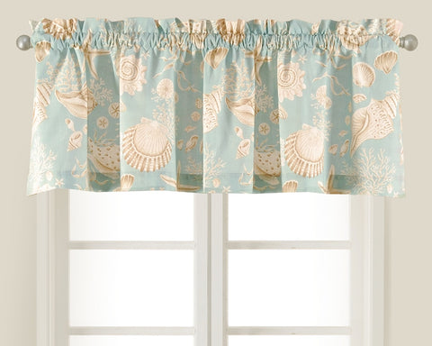 Natural Shell Stripe Valance