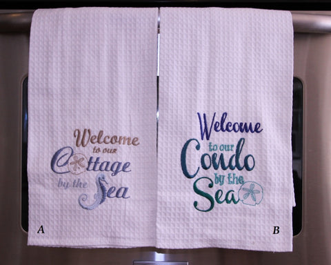 Welcome Kitchen Towel