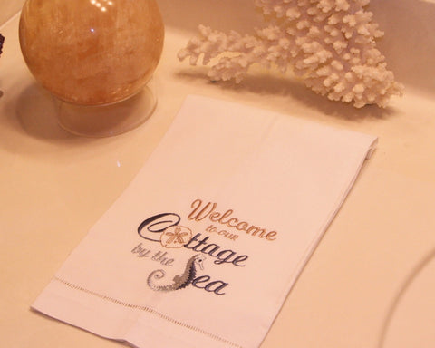 Welcome to Cottage Guest Towel
