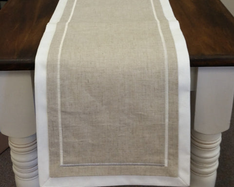 Sag Harbor Linen Table Runner