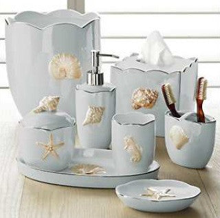 Mare Shells Seafoam Bath Accessory