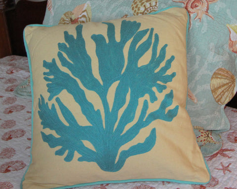 Gale Coral Pillow