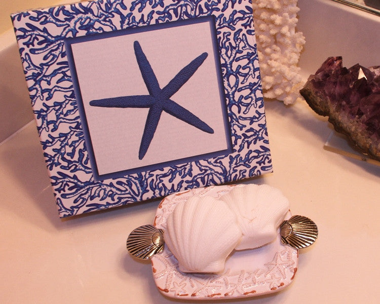 Starfish Soap Dish and Soap