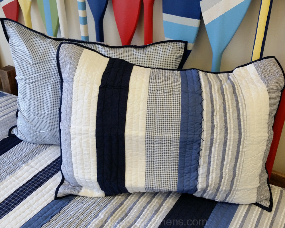 Nantucket Dream Stripe Sham