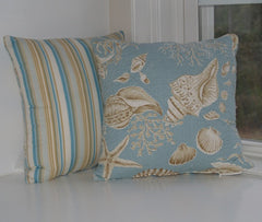 Natural Shell Toss Pillow