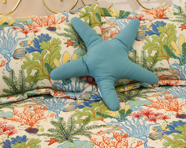 Everyone Loves A Starfish Shaped Pillow On Their Bed Get
