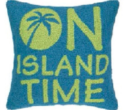 On Island Time Hook Pillow