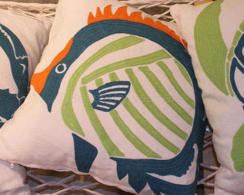 Outdoor Coastal Themed Pillows
