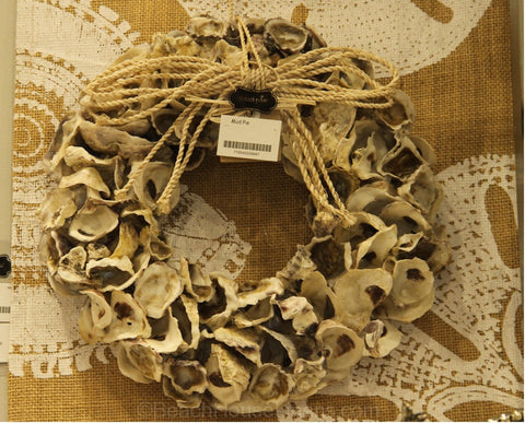 Oyster Shells Wreath