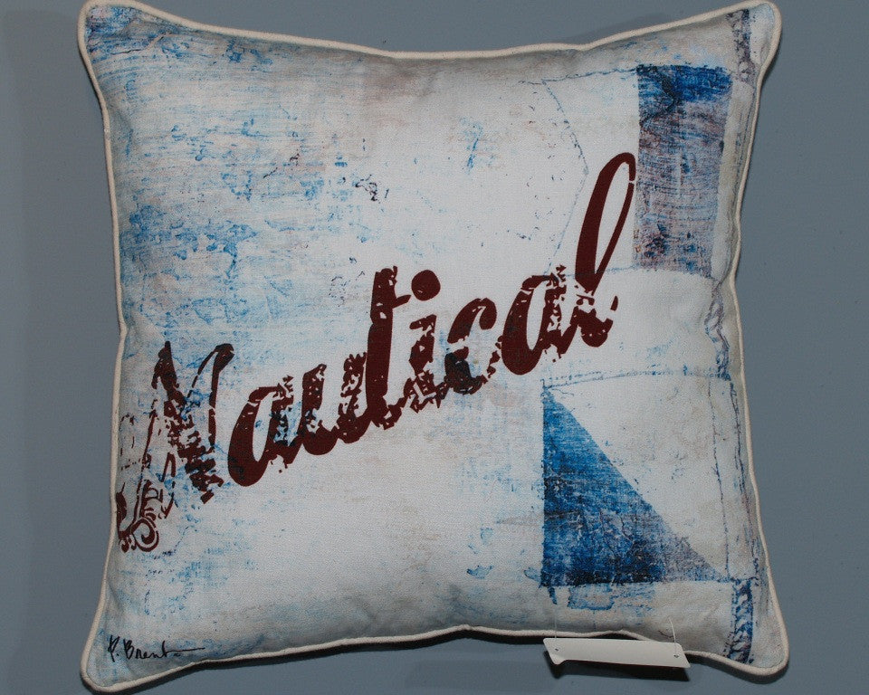 Paul Brent S Coastal Design Series Of Pillows Beach