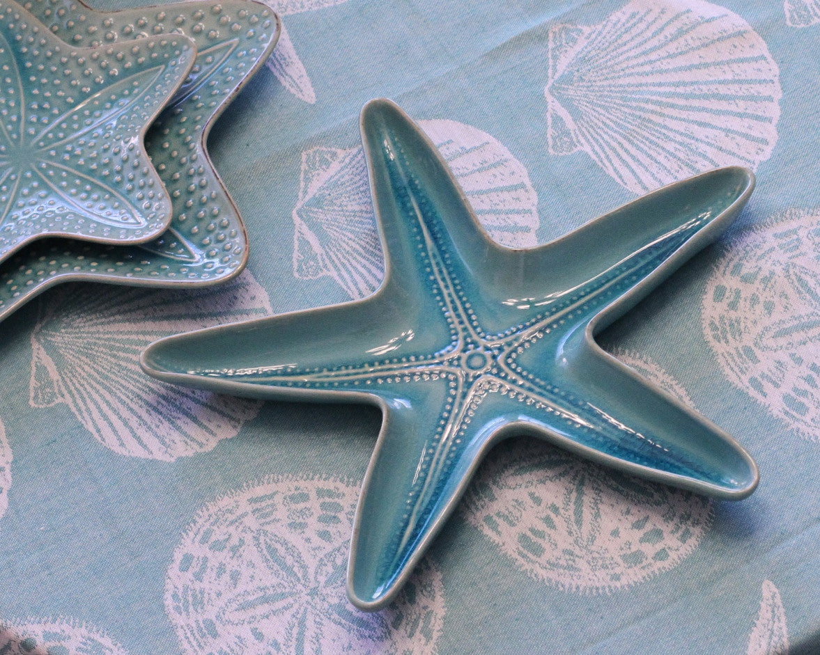 Starfish Azure Serve Dish