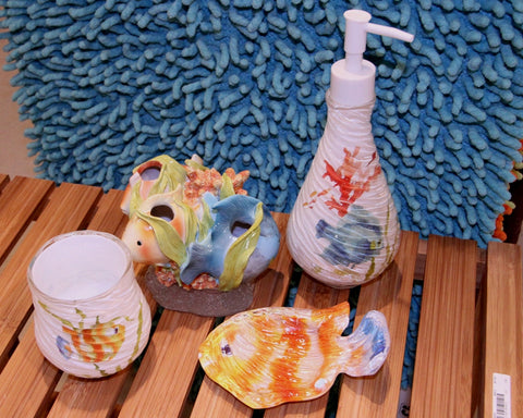 Rainbowfish Bath Accessory Collection