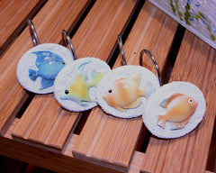 Rainbowfish shower Hooks