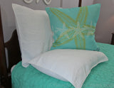 Shell Reversible White Standard Sham