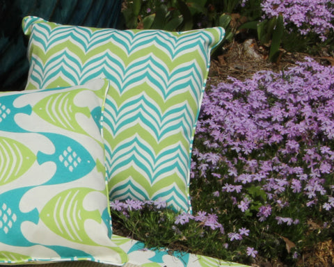 Ripple Effect Corded Pillow