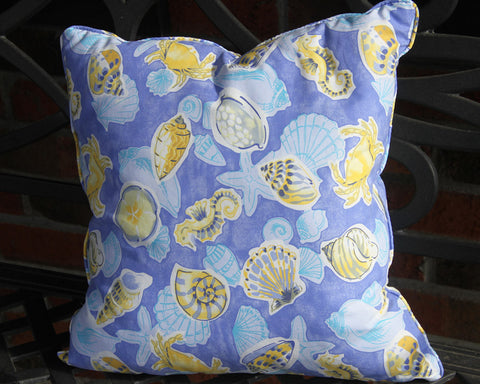 Crab Sealife Pillow