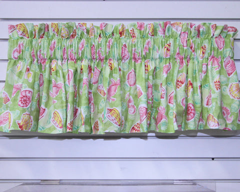 Crab Sealife Valance Pink