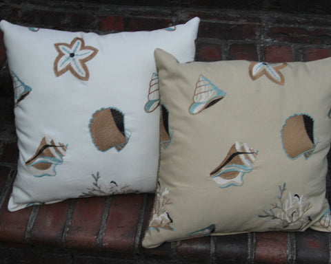 Shelly Beach Pillow