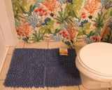 Bambini Rug with Splish Splash Atlantis Shower Curtain