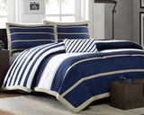 Stripe Test Comforter Set and Pillow