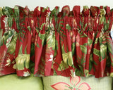 Tropical Palm Valance, Choose from 3 colors