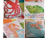 Tropic Escape Applique Pillow