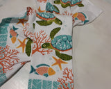 On Island Time Turtle Terry Kitchen Towel
