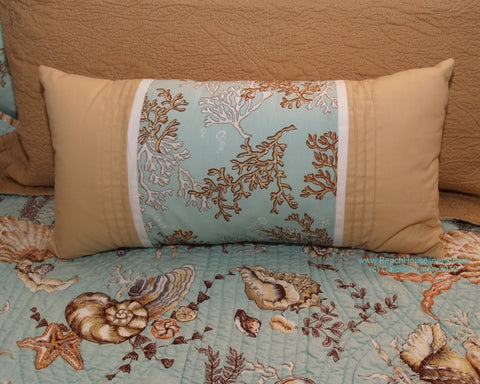 Under the Sea Aqua Pieced Boudoir