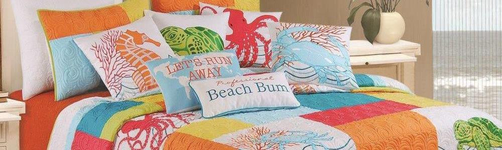 Tropic Escape Quilt Collection from C&F Enterprises