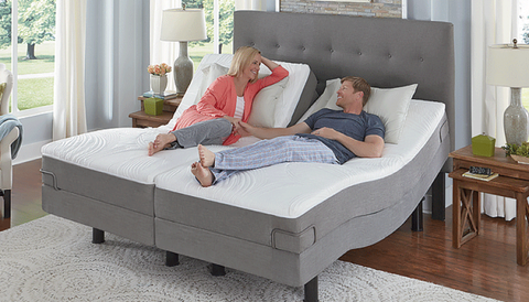 The Reverie Dream Sleep System with 5D Adjustable Base