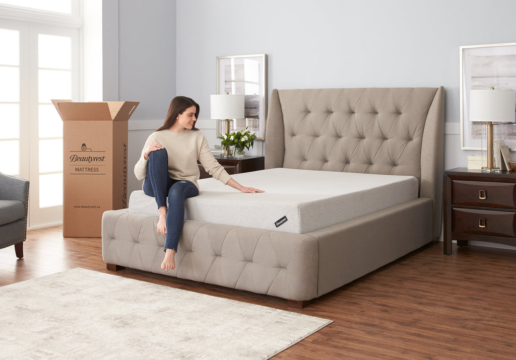 "Beautyrest MIAB Lifestyle Gel 8"" Mattress"