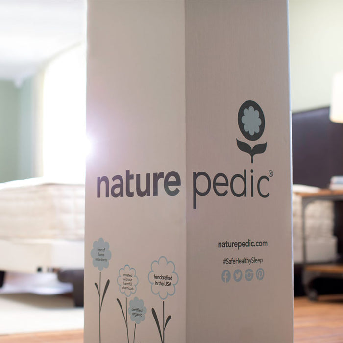Naturepedic Chorus - roll packed for your convenience.