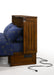 Night and Day Daisy Cabinet Bed in Black Walnut - USB