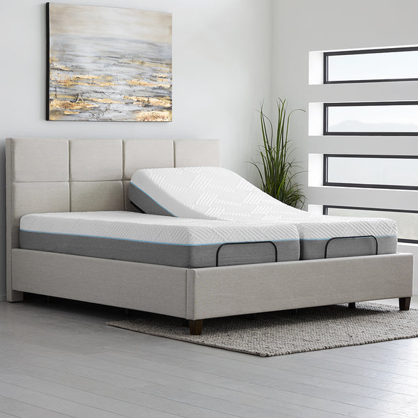 Fusion Deluxe Adjustable Bed Package exclusively at Luxurious Beds and Linens