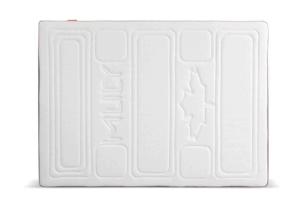 MLILY Harmony Deluxe+ Ortho Gel Mattress Overhead View