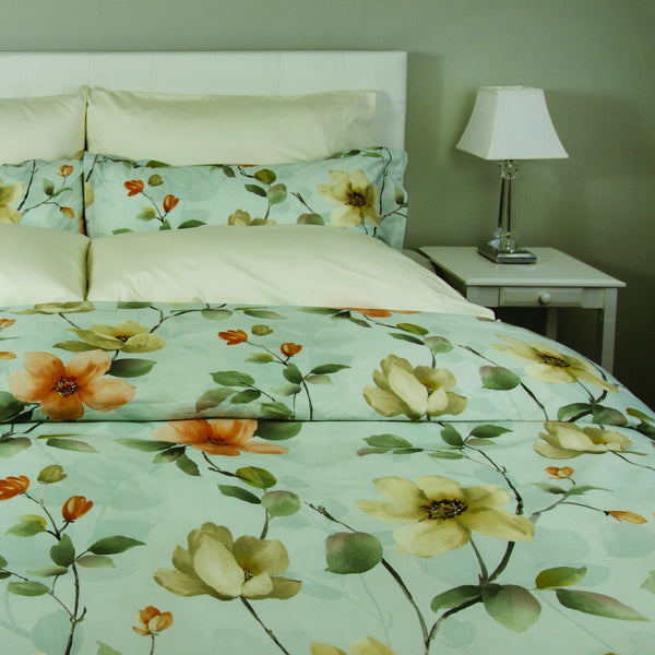 Magnolia Duvet Cover by Cuddle Down