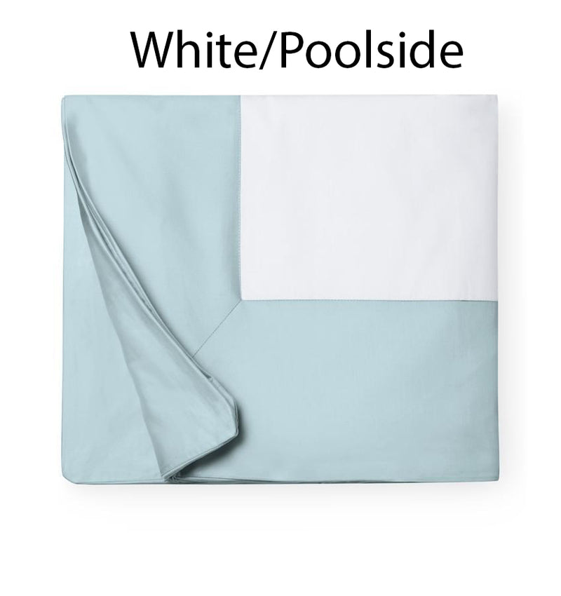 SFERRA Casida Collection - White/Poolside Swatch