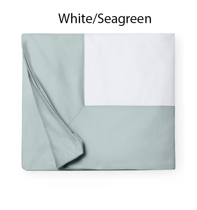 SFERRA Casida Collection - White/Seagreen Swatch