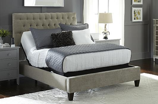 Leggett and Platt S Cape Adjustable Bed with Zero Clearance